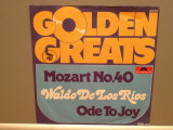 MOZART - SYMPHONY no 40/ODE TO..(1970/POLYDOR/RFG)- Vinil Single pe '7/Impecabil
