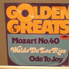 MOZART - SYMPHONY no 40/ODE TO..(1970/POLYDOR/RFG)- Vinil Single pe '7/Impecabil - Muzica Clasica