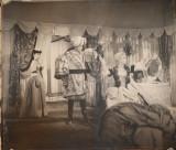 Fotografie afis de dimensiuni mari : 63 x 55 cm , anii 50 , piesa de teatru , 1
