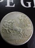 5 lire 1914 Vittorio Emanuele III - moneda argint, Europa