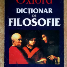 Simon Blackburn – Dictionar de filosofie {Oxford}