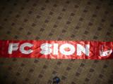 Esarfa matase a suporterilor echipei Fotbal FC SION -Elvetia - Seara Gala 2013
