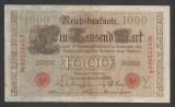 GERMANIA 1000 1.000  MARK  MARCI 1910  [12]  Stampila Rosie , Litera Y , VF