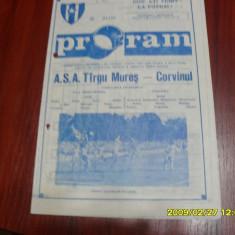 Program ASA TG. Mures - Corvinul Hd. - Program meci