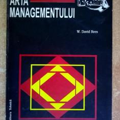 W. David Rees - Arta managementului