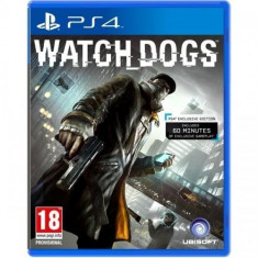 WATCH DOGS - Watchdogs - PS4 PlayStation 4 [Second hand] - Jocuri PS4, Actiune, 18+, Single player