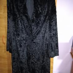 Palton blana artificiala femei - haina de blana