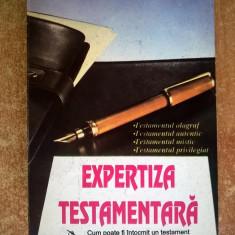 Adrian Fratila - Expertiza testamentara