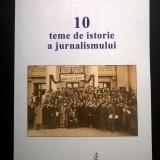Marian Petcu - 10 teme de istorie a jurnalismului