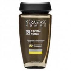 Kérastase Homme Capital Force Vita Energising Shampoo sampon pentru folosirea zilnică 250 ml