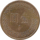 Moneda 1 Yuan 2006 - Taiwan, Asia
