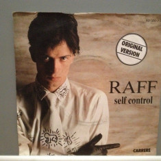 RAFF - SELF CONTROL (1984/CARRERE/RFG) - Vinil Single pe '7/ - Muzica Pop Teldec