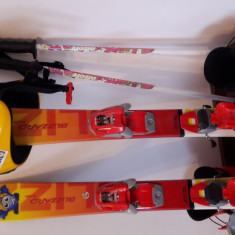 Vand schiuri copii si echipament complet - Skiuri Blizzard, Marime (cm): Sub 90