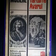 Moliere - Tartuffe * Avarul - Carte Teatru