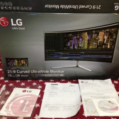 Monitor LED IPS LG 29 Curved Wide 29UC97-S extra garantie