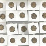 (B.D.G.) MONEDE DE 50 BANI, 20 DE BUCATI, TAXE - GRATIS