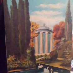 Tablouri vechi - Tablou autor neidentificat, Peisaje, Ulei, Art Deco