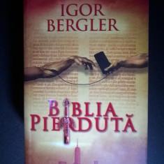 Igor Bergler - Biblia pierduta - Carte politiste