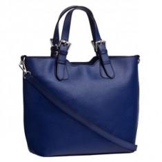 Brastini La Valentina piele geanta de mana albastru - Geanta Dama