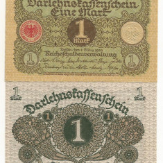 GERMANIA 1 MARK MARCA 1920 UNC [1] P-58, neciculata - bancnota europa