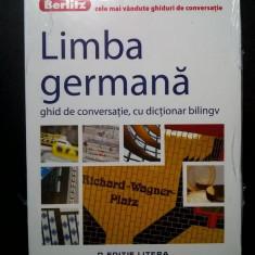 Limba germana ghid de conversatie, cu dictionar bilingv