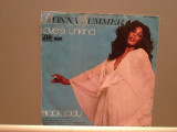 DONNA SUMMER - LOVE'S UNKIND/BLACK LADY (1977/WARNER/RFG) - Vinil Single pe '7/, Atlantic
