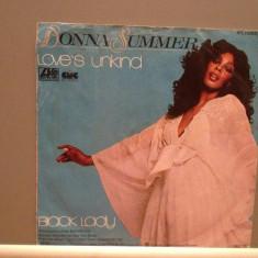 DONNA SUMMER - LOVE'S UNKIND/BLACK LADY (1977/WARNER/RFG) - Vinil Single pe '7/ - Muzica Pop Atlantic