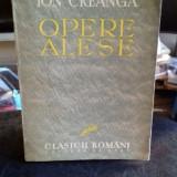 OPERE ALESE - ION CREANGA