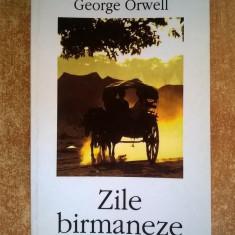 George Orwell - Zile birmaneze - Roman