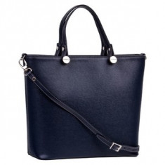 Brastini La Giulia piele geanta de mana albastru inchis - Geanta Dama