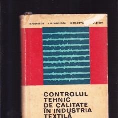 CONTROLUL TEHNIC DE CALITATE IN INDUSTRIA TEXTILA