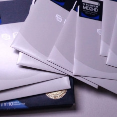 Un lot set de 10 discheta pt. floppy mare 5 inci calculator vechi, par a fi noi - Floppy disk PC