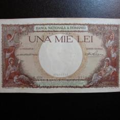 1000 LEI 1939 AUNC - - Bancnota romaneasca