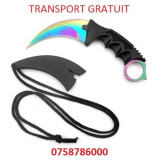 Transport Gratuit!!! Cutit Karambit Fade CS:GO.