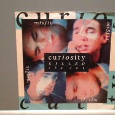 CURIOSITY KILLED THE CAT - MISFIT/MAN(1986/MERCURY/RFG) - Vinil Single pe '7/NM - Muzica Pop Phonogram rec