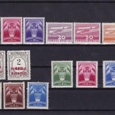 ROMANIA 1932/36 LOT TIMBRE AVIATIE - Timbre Romania, Nestampilat