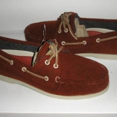 Mocasini barbat SPERRY TOP SIDER originali noi lana+piele foarte comozi 42 - Mocasini barbati Sperry, Culoare: Rosu