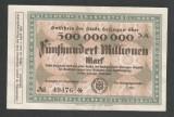 GERMANIA NOTGELD SOLINGEN 500000000 500.000.000 MARCI 1923 [2] KEL: 4809p/3A