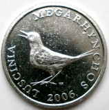 CROATIA , 1 KUNA 2006 , MIERLA , DIAMETRU 23mm., Europa, Crom