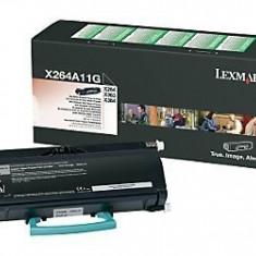 Cartus OEM Lexmark X264A11G toner Black 3500 pagini - Cartus imprimanta