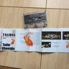 tudor gheorghe toamna simfonic caseta audio muzica folk Illuminati Creatio 2001