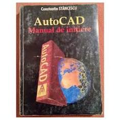 Constantin Stancescu Autocad Manual de initiere - Manual Autocad