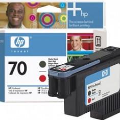 Cartus OEM HP C9409A Matte Black and Red Printhead (70) - Cartus imprimanta Oki