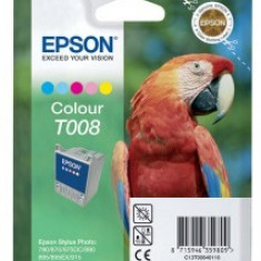 Cartus OEM Epson T008 Color 220 pagini - Cartus imprimanta