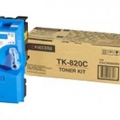 Cartus OEM Kyocera TK-820C toner Cyan 7000 pagini - Cartus imprimanta