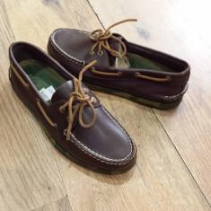 Mocasini/Pantofi barbat SPERRY TOP SIDER originali noi piele integral 42 - Mocasini barbati Sperry, Culoare: Maro