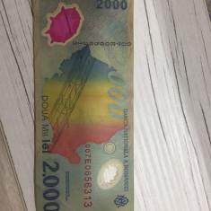 Bancnota 2000 de lei-eclipsa pentru colecționari - Moneda Romania
