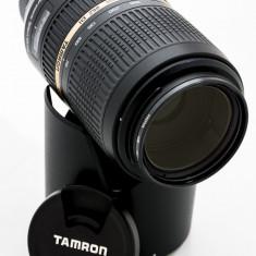 Obiectiv Tamron AF-S SP 70-300mm f/4-5.6 Di VC USD + filtre C-PL si ND - Obiectiv DSLR