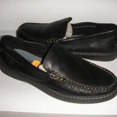 Pantofi/mocasini barbat SPERRY TOP SIDER originali noi piele manusa comozi 42 - Mocasini barbati Sperry, Culoare: Negru