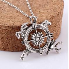 Game of Thrones pandantiv compass medalion lant colier game of thrones - Pandantiv fashion